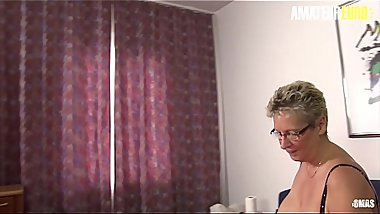 AMATEUR EURO - German Amateurs Erna &amp_ Elif  Are Sharing Yong Cock In Hot FFM