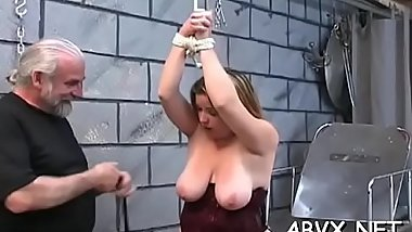 Top notch amateur slavery scenes with juvenile girl