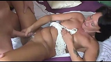 Dirty MILF Arranged Home Party