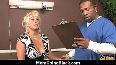 Your mother goes for a big black cock 7