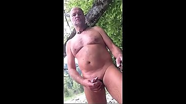 nudist with foreskin and cock ring