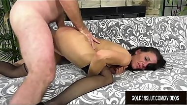 Slender Older Slut Keli Richards Enjoys Wild and Lusftul Mature Sex