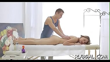 Sex toy delivers an unearthy pleasure to a shaved twat