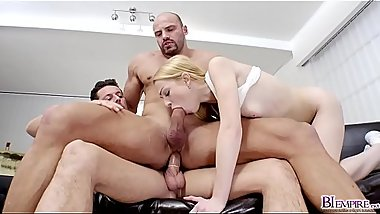 Girlfriend sucking boyfriends stepdads huge rod!