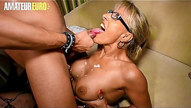 AmateurEuro - Young German Stud Cums All Over His German Aunt