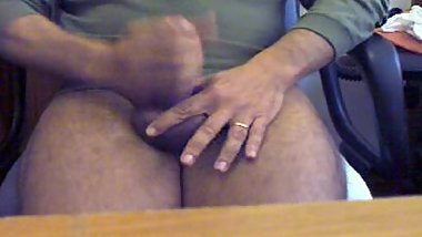 Punheta amadora - Mature amateur fat cock masturbation 9