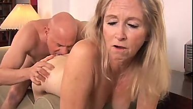 Beautiful mature blonde Annabelle Brady loves to fuck