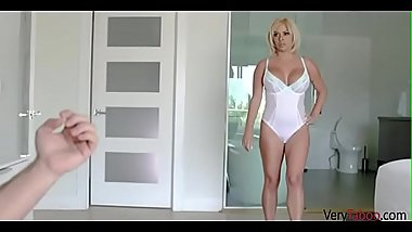 GOLD DIGGER MOM fucks SON