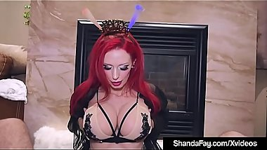 Canadian Cougar Shanda Fay Sucks &amp_ Fucks Your Cock