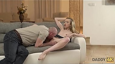 DADDY4K. Slender Jessi is happy to get closer to young man&rsquo_s father