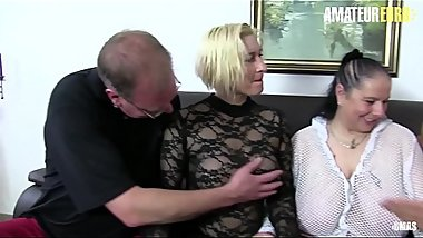 AMATEUR EURO - German BBW Matures Get Their Pussies Drilled Hard (Oda Amelie &amp_ Hanne)