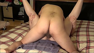 Dirty Talk and a Messy Creampie Fuck for Naughty Amateur Girlfriend_ She Cums First, I Cum Next!
