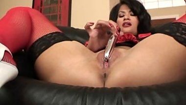 Mature Nurse And Dildo