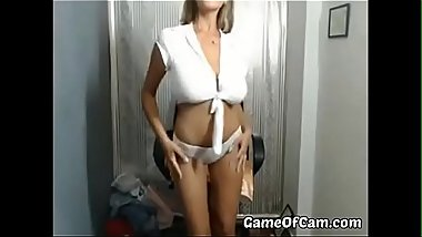 Incredible Big Boobs milf play time - part 2