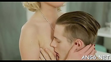 Seductive Angie Koks gets groped and fucked